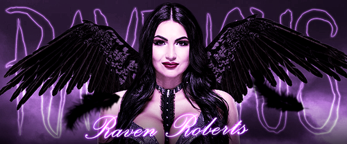 EAW Raven Roberts signature by ArselGFX