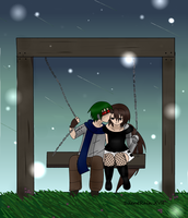 HiroxItami kiss by SilentRainxvii