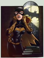 Batgirl. Coloured. by Scorch-D
