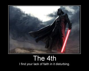 Vader's view on the 4th by priorchaos