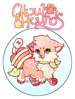 Free Requests: Peach Ghoul Hound by Elix-e