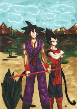 Training grounds by SSJ-Princess-Bijou