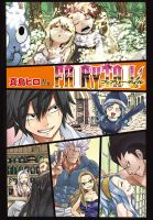 Color page of Fairy Tail 532 clean by genezizpa