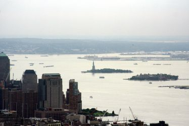 Lady Liberty from Afar by thzinc