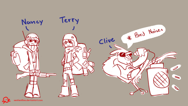 RS Characters 4 by SentientLine