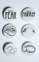 Kink Badge Collection by Elerrina