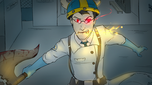 Here comes the bloody medic! by RegalClaw