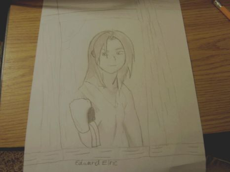 Edward Elric: Looking Through the Glass by momiji-rabbit-sohma