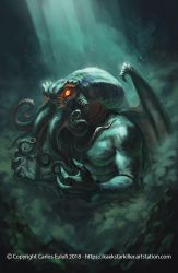 The Call of Cthulhu by Kaek