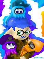 Squirt's Squids by AgentDan10