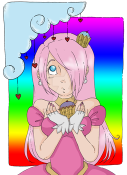 Cupcake Princess by xXPink-Kitten1023Xx