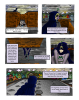 The Defense League Issue #1: Page 1 by XxKewonaWolfxX