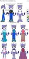Tundra reference sheet by SparDanger