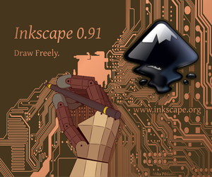 Inkscape About Screen by mpihlamo