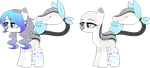 Sapphire and Silver Reference Sheet by Eiine