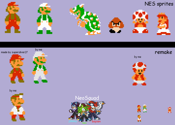 nes sprite remake by Neostriker02