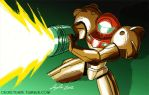Metroid by SupaCrikeyDave