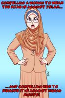 No Compulsion in Hijab 01 by Nayzak
