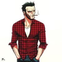 Casual Friday: Wolverine by AndrewKwan