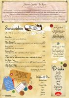 Heavenly Cupcakes Menu Inside by Deathanee