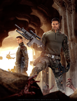 BSAA Heroes - Nivanfield by FearEffectInferno