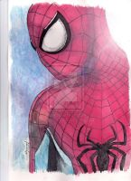 Spider-Man Watercolors by StevenWilcox