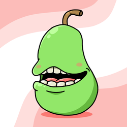 This Pear Wont Bite by JOSHDILISI