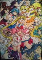 Sailor Moon by seli-chan