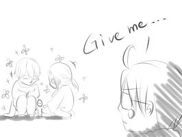 [Triangle?]Give me... by ChinChuan