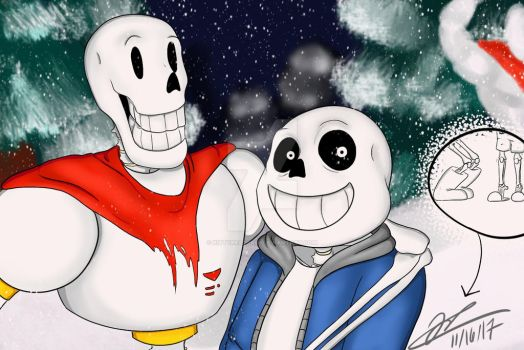 Skeleton Brothers by kittyreader99