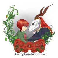 Ancient Magus Bride by dorothy-draws