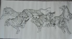 Zodiacs - Year of the Tiger by daxiong