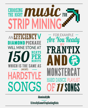 Minecraft Infographic by Abominablyme