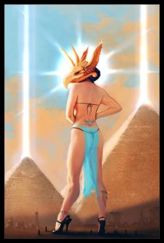 Egyptian Goddess by Wreckluse