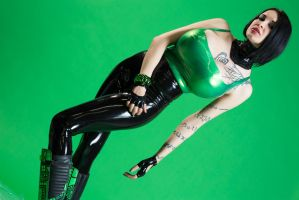 Cybergoth part 2 by Ariane-Saint-Amour