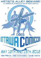 Ottawa Comic Con by AdamTupper
