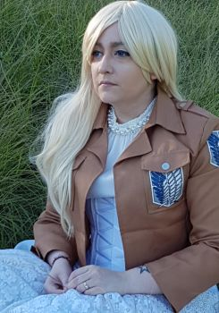 'I'll been waiting  for you forever, Ymir.' by ChemicalLadyCosplay