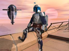 A Kamino Sunset by Chastangela