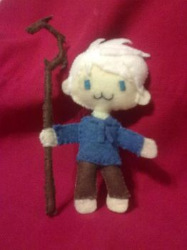 Jack Frost Plushie! by wiccanmagic97