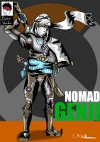 Nomad Genji (Overwatch) by Boy-Wonder-Arts
