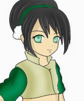 Toph colored by Yumi-chan-059