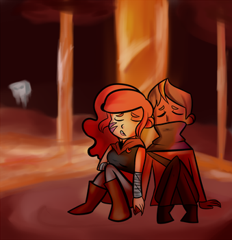 into the nether by FrigginGodess
