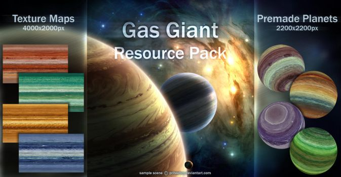 Gas Giant resource pack by priteeboy
