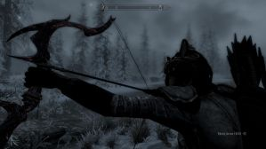 Skyrim Screenshot: Archer of the Ages by GwillaTheDragon
