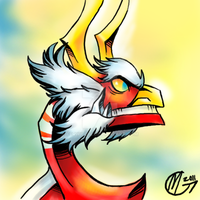 King of Red Lions by Ferwildir