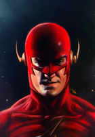 The Flash (John Wesley Shipp) by junkome
