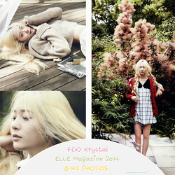 F(x) Krystal Photopack ELLE Magazine 2014 by wingedxcloud