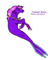 Tropical Storm by Taelesiy