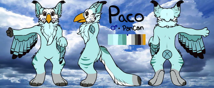 Paco the Pancan by LilyDragon14