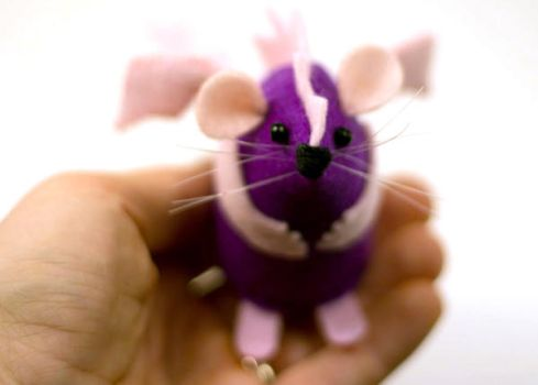 Purple Dragon Mouse by The-House-of-Mouse